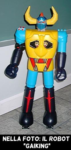 Il robot Gaiking